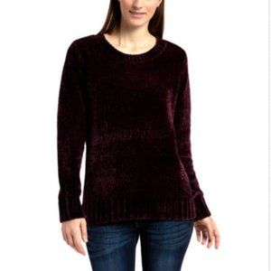 NWT Orvis Chenille Sweater - Small
